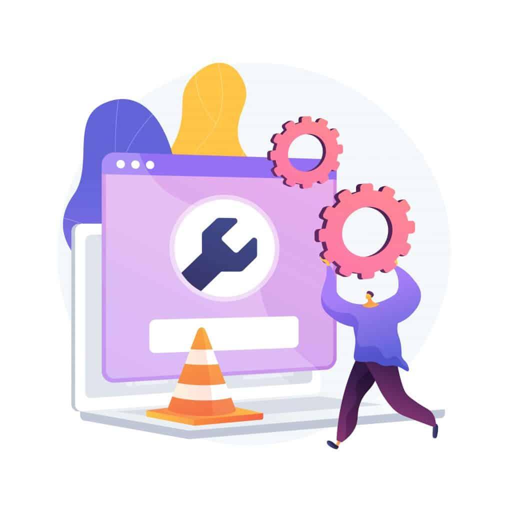 mantenimiento de una pagina web